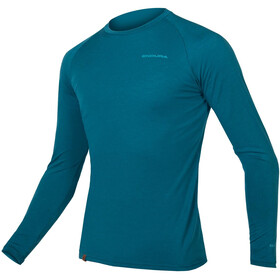 Endura BaaBaa Blend Baselayer a maniche lunghe Uomo, king fisher